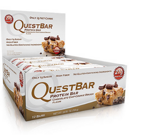 Quest Nutrition Chocolate Chip Cookie Dough, 12x60g