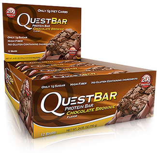 Quest Nutrition Chocolate Brownie, 12x60g