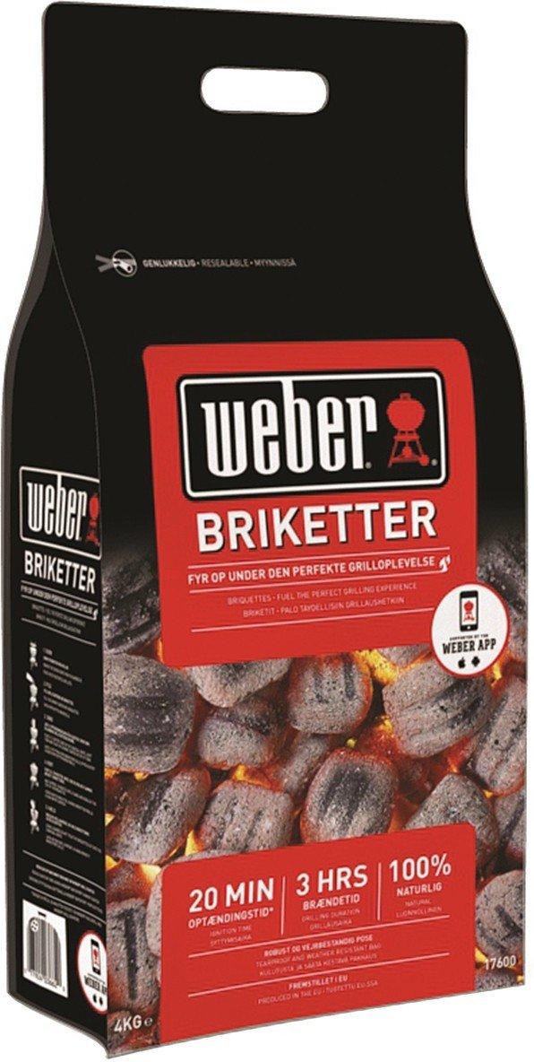 Weber briketter
