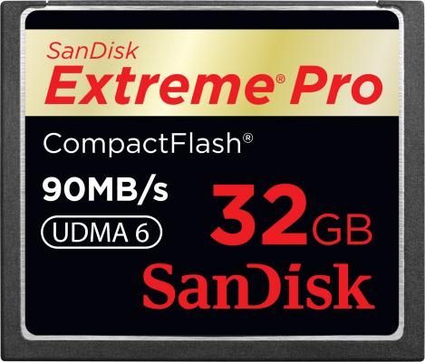 SanDisk Compact Flash Extreme Pro 32GB