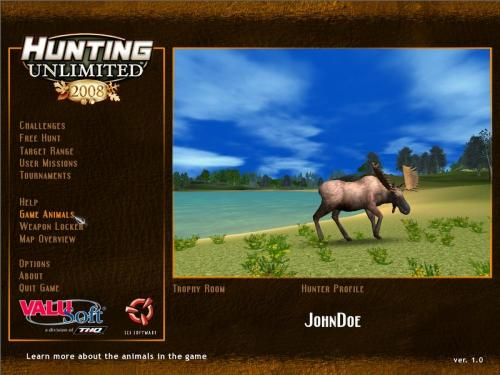 Hunting Unlimited 2008 til PC