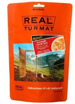 Real Turmat : Svinekjøtt i sursøt saus