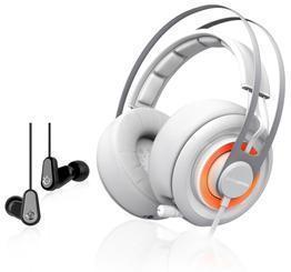 SteelSeries Siberia Elite Prism og Flux-In Ear (Pakke)
