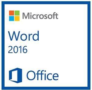 Microsoft Word 2016