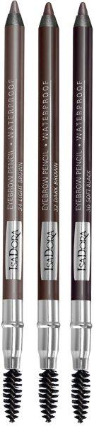 Isadora Eye Brow Pencil with Brush Waterproof