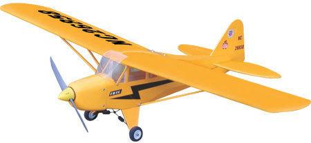 The World Models PIPER J-3 CUB NITRO ARTF
