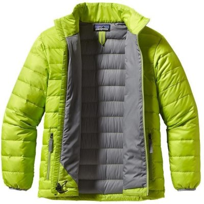 Patagonia Boy's Down Sweater Channel (Barn)