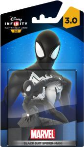 Disney Infinity Figur: Black Suit Spider-Man