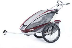 Thule Chariot CX2 m/Sykkelki