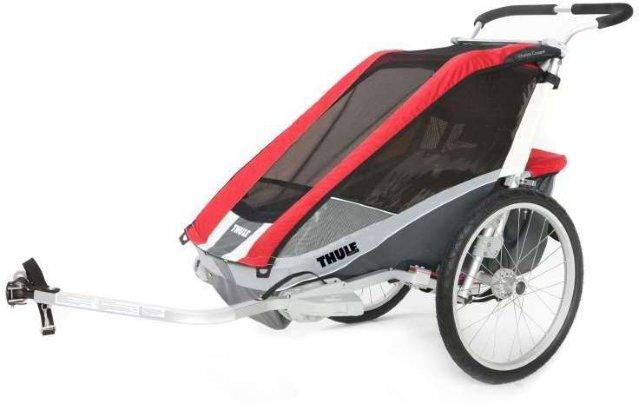 Thule Chariot Cougar 1 Sykkelvogn (inkl. Sykkelkit)