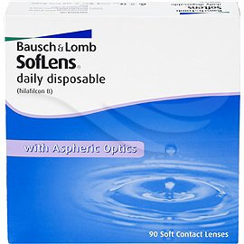 Bausch & Lomb SofLens daily disposable 90p