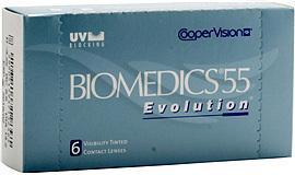Cooper Vision Biomedics 55 Evolution