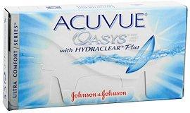 Johnson & Johnson Acuvue Oasys 6p