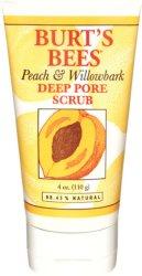 Burt's Bees Peach & Willobark Deep Pore Scrub