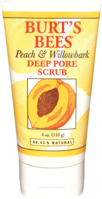 Burt's Bees Peach & Willobark Deep Pore Scrub