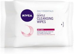 Nivea Gentle Cleansing Wipes 25stk