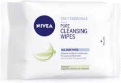 Nivea Pure Cleansing Wipes 25stk