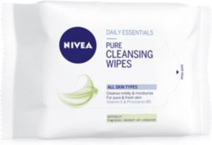 Nivea Pure Cleansing Wipes 25stk