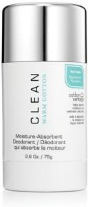 Clean Warm Cotton Deodorant Stick