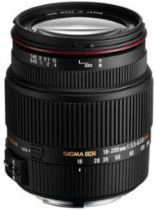 Sigma 18-200mm f/3.5-6.3 II DC OS HSM for Pentax