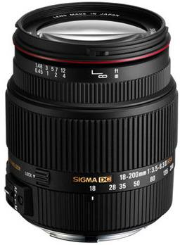 Sigma 18-200mm F/3.5-6.3 DC for Pentax