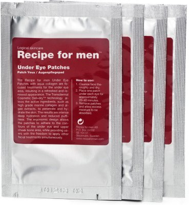 Recipe for Men Under Eye Patches 4stk