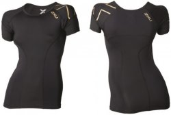 2XU Elite Compression Top SS (Dame)