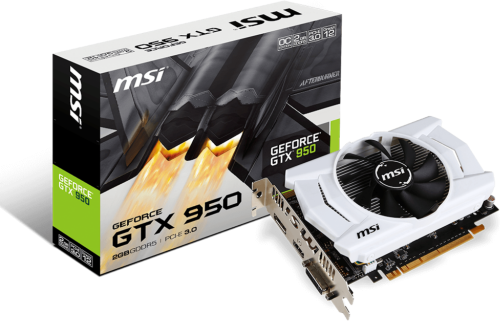MSI Geforce GTX 950 2GD5 OCV2