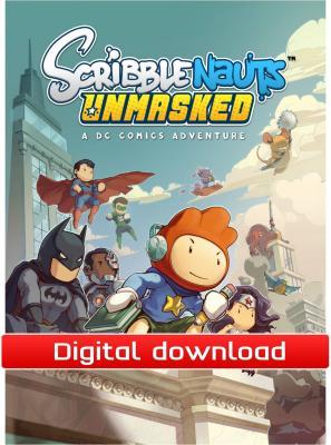 Scribblenauts Unmasked: A DC Comics Adventure til PC