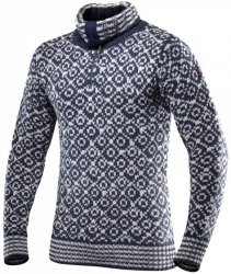 Devold Svalbard Sweater Zip Neck (Herre)