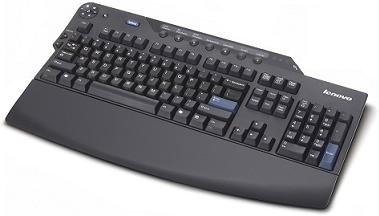 Lenovo Business Black Enhanced Performance USB Keyboard