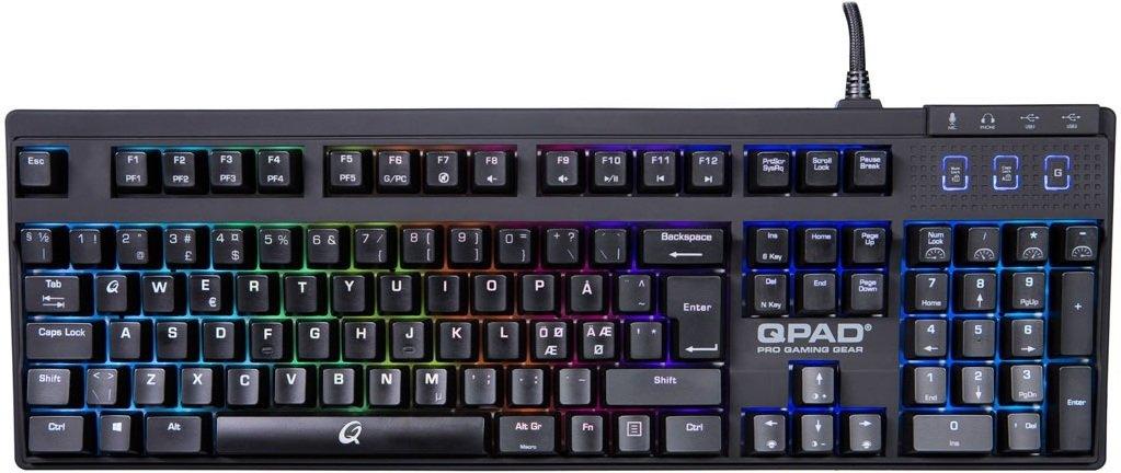 Best pris på Qpad MK 5 Pro Gaming Se priser før kjøp i