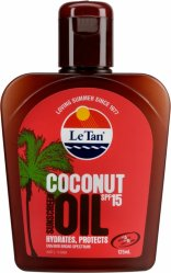 Le Tan Coconut Sunscreen Oil SPF15