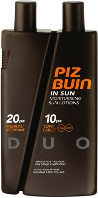 Piz Buin In Sun Lotions SPF10/20