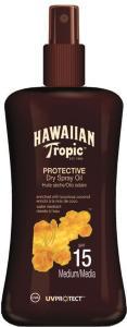 Hawaiian Tropic Protective Dry Spray Oil SPF15