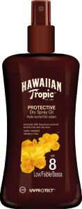 Hawaiian Tropic Protective Dry Spray Oil SPF8