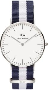 Daniel Wellington Classic Glasgow Silver (0602DW)