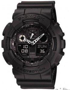 G-Shock Analog- og Digitalklokke (GA-100-1A1ER)