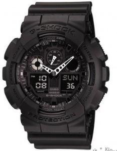 Casio G-Shock Analog- og Digitalklokke (GA-100-1A1ER)