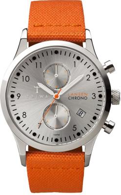 Triwa Stirling Lansen Chrono Orange Canvas