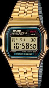 Casio Digitalklokke (A159WGEA)