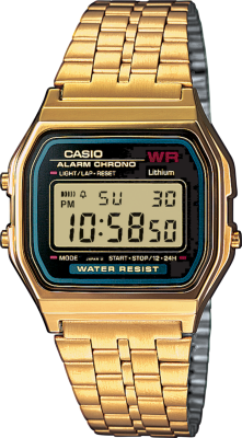 Casio Digitalklokke (A159WGEA)