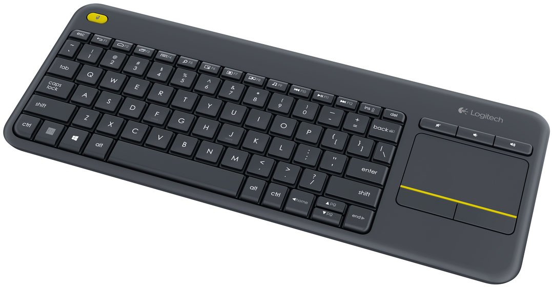 Best pris på Logitech Wireless Touch Keyboard K400 Plus