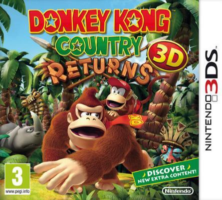 Donkey Kong Country Returns 3D til 3DS