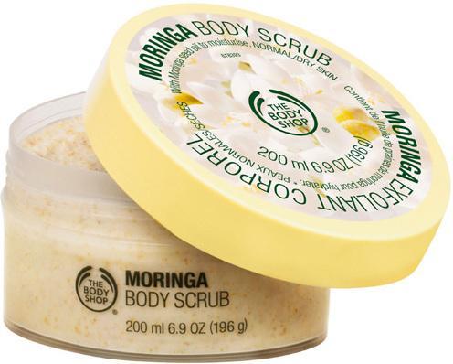 The body Shop Moringa Body Scrub 200ml