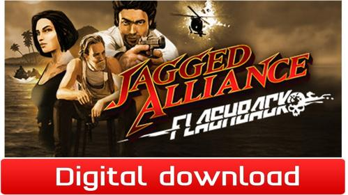 Jagged Alliance Flashback til PC