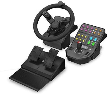 Saitek Farming Simulator Ratt og Pedal