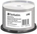 Verbatim DVD-R Bulk Wide Glossy Waterproof (43734)