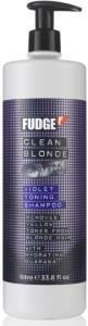 Fudge Clean Blonde Violet Shampoo 1000ml