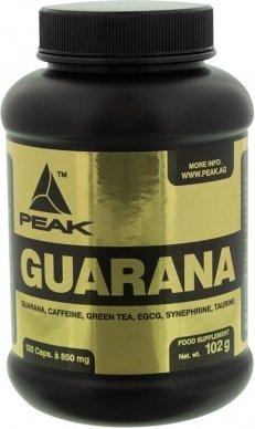 Peak Guarana Kapsler m/160mg Koffein